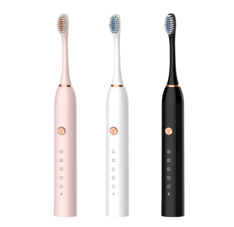 New Style Electric Toothbrush Sonic 5 Files Adult Household Soft Bristle USB Rechargeable Waterproof Couples Electric Toothbrush