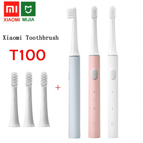 xiaomi Mijia T100 Sonic Electric Toothbrush Adult Ultrasonic Automatic Toothbrush USB Rechargeable Waterproof Tooth Brush Xiaomi