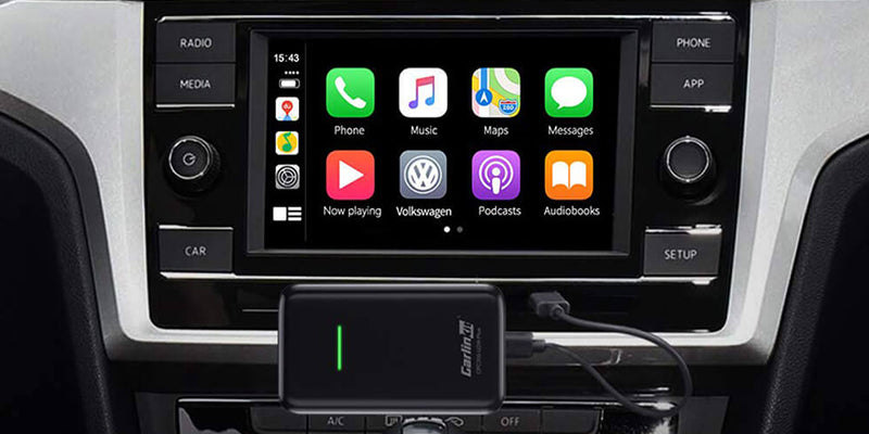 The two generations of Carlinkit wireless dongles (U2W, U2W Plus) are available for existing wired CarPlay capable vehicles or certain wired CarPlay capable aftermarket receivers (Alpine, Pioneer, Kenwood ).