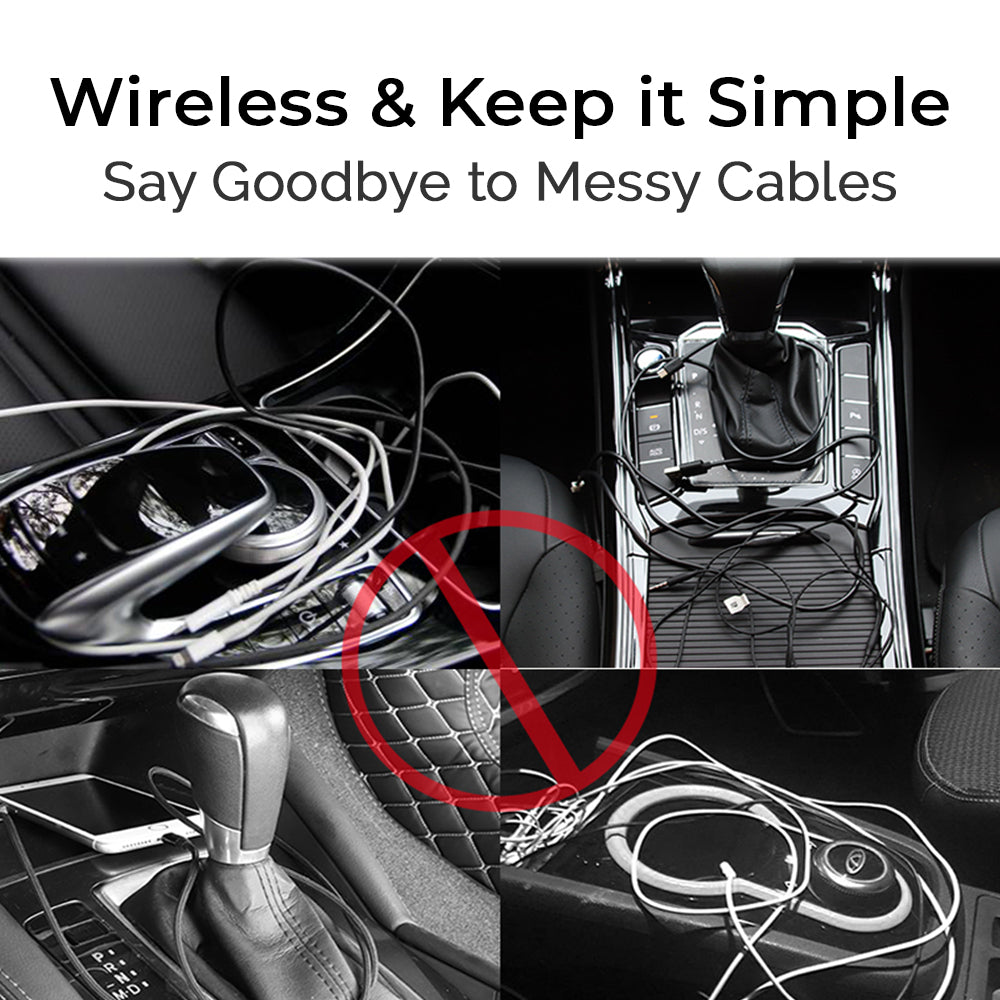 Wireless & Keep it Simple Say Goodbye to Messy Cables