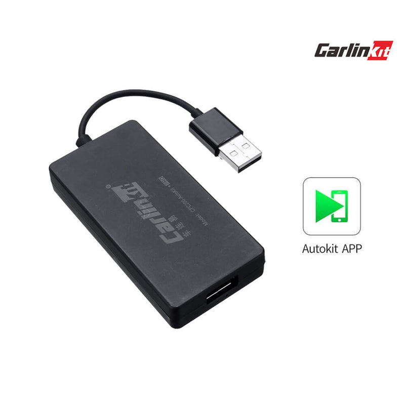 DE (Autokit) Carlinkit Wireless CarPlay Dongle für Aftermarket Android Hauptgerät