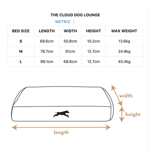 cloud-dog-bed-size-chart-metric-green-large