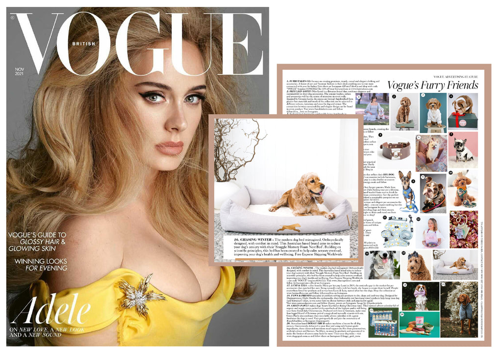 Oct 23 Vogue UK Feature November with Chasing Winter