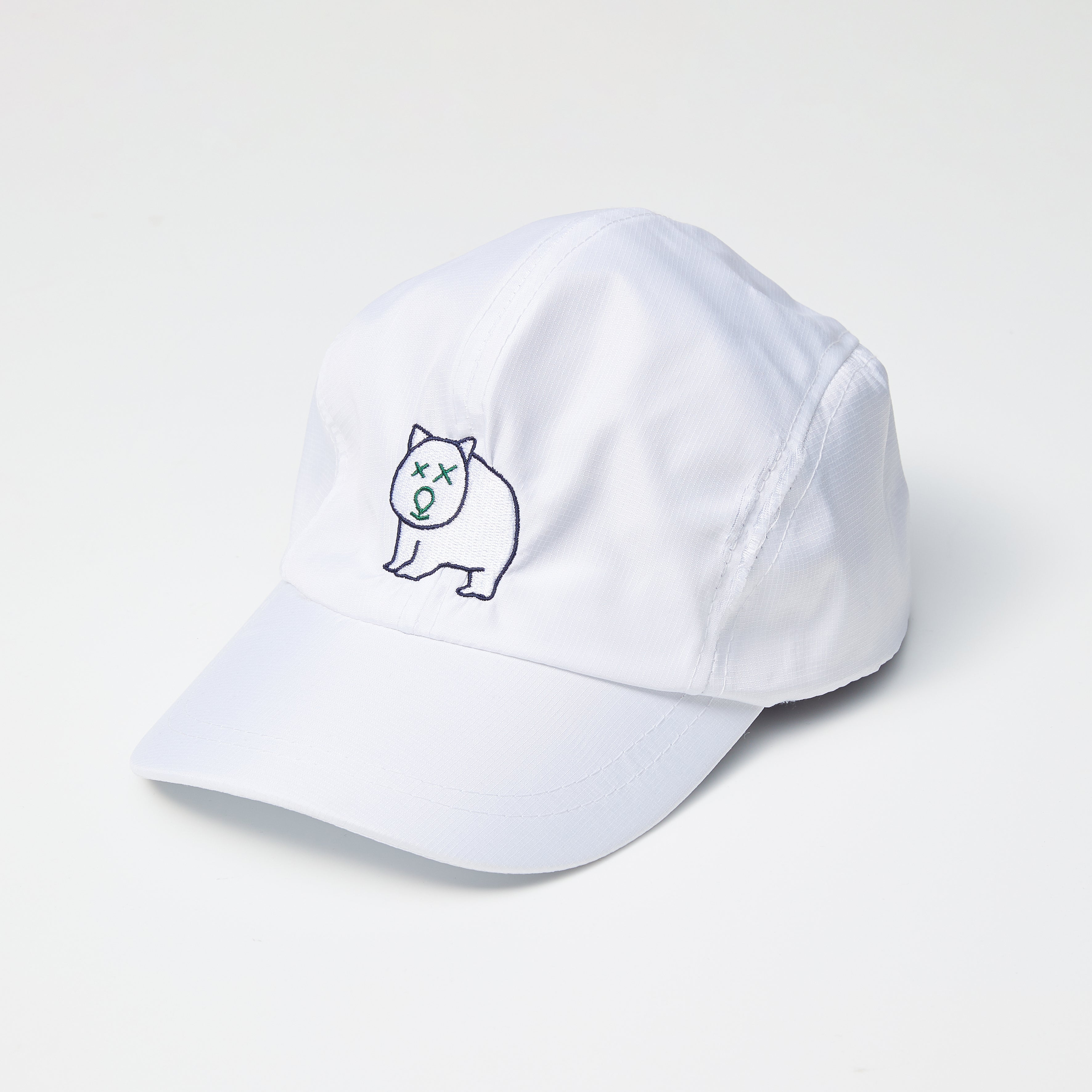 WOMBAT SPORTS RIPSTOP HAT - WHITE