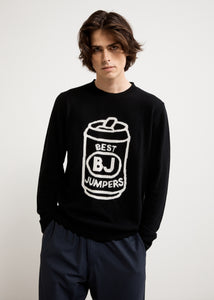 BEER CAN KNIT JUMPER