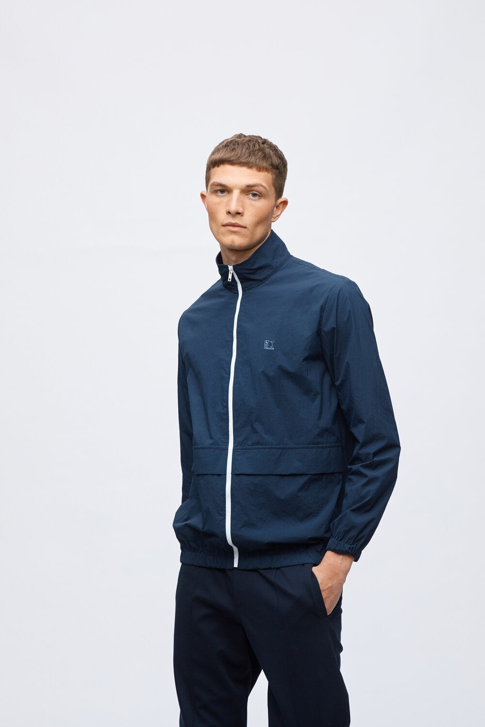GARY LIGHT WEIGHT JACKET - DEEP BLUE