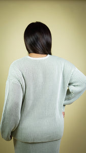 Monet V-Neck Sweater