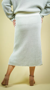Monet Knit Skirt