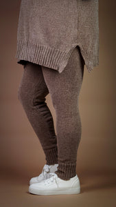 L'Heure du Café Knit Leggings