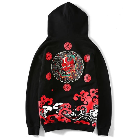 Sweat Japonais<br> Oni Wave