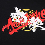 T-SHIRT JAPONAIS<br>AWESOME NOIR