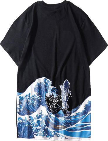 T-Shirt Japonais <br/> La Vague