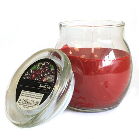 cherry jar candle