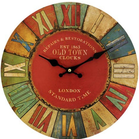 Retro London wall clock