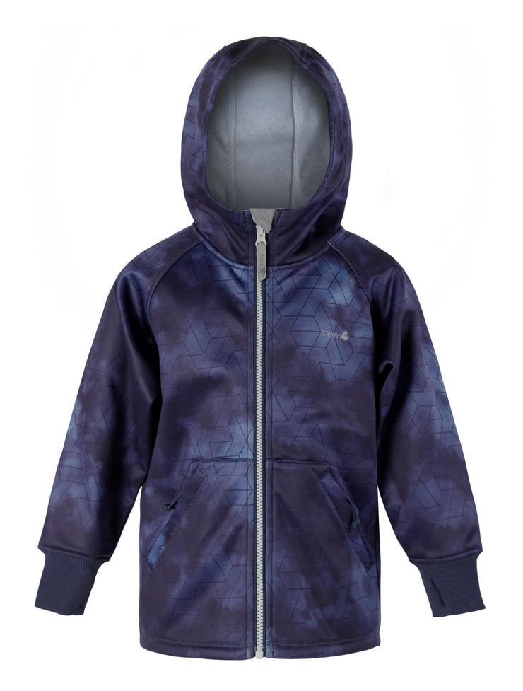 All-Weather Hoodie - Dark Night | Waterproof Windproof Eco