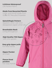 SplashMagic Rainshell - Sorbet Pink | Waterproof Windproof Eco