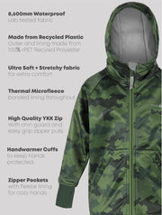 All-Weather Hoodie - Camo | Waterproof Windproof Eco