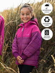 Hydracloud Puffer Jacket - Wildberry | Waterproof Windproof Eco