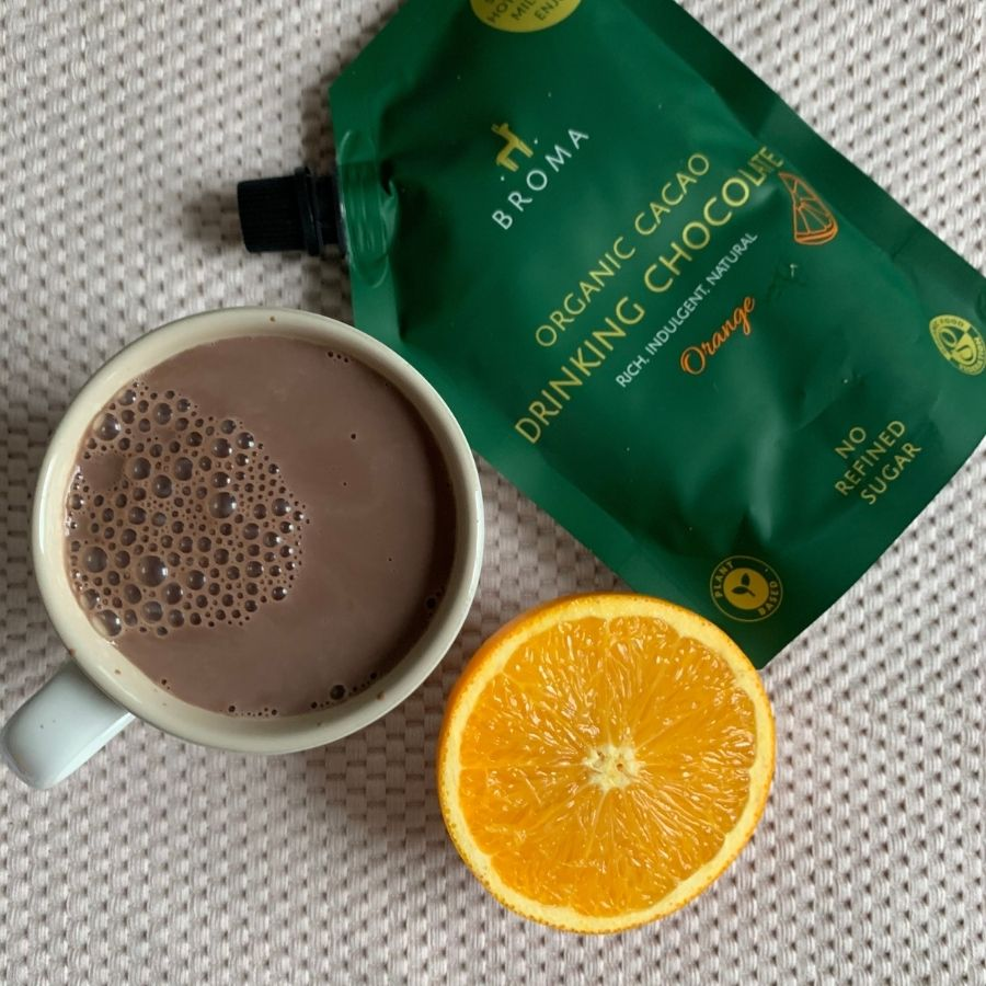 Organic Cacao Drinking Chocolate - Orange