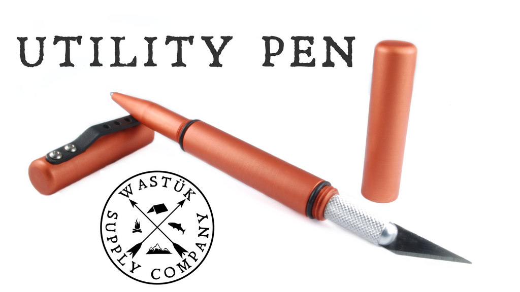 Utility Pen now on Kickstarter