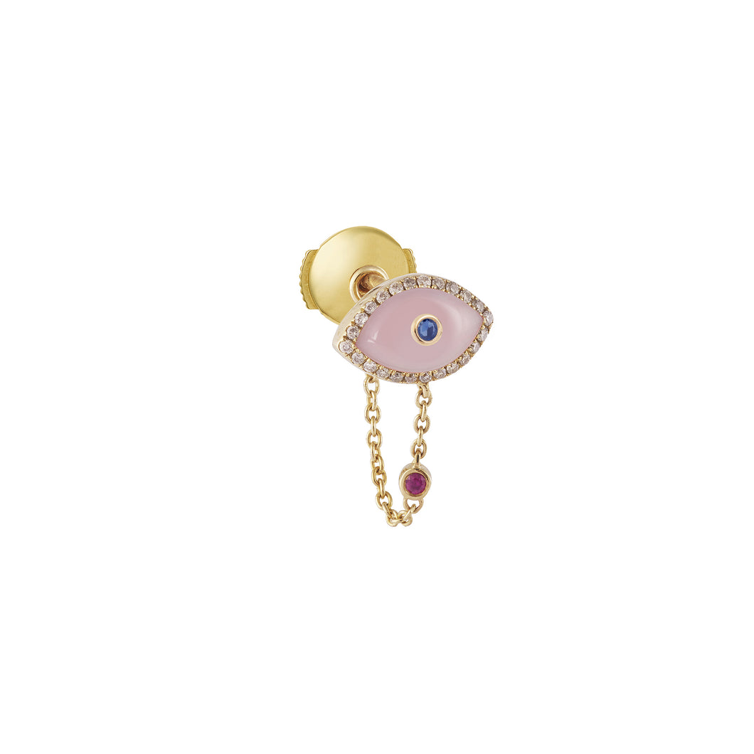 Pink Opal Endza Earring