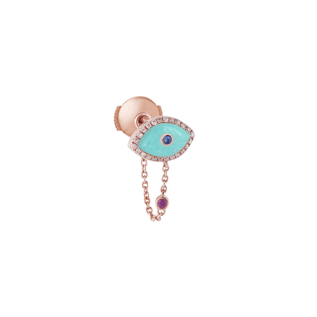 Turquoise Endza Earring