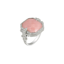 Load image into Gallery viewer, Chouchane Ring Pink Opal