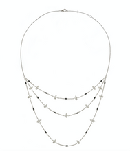 Load image into Gallery viewer, 3 Chains Chouchane Necklace