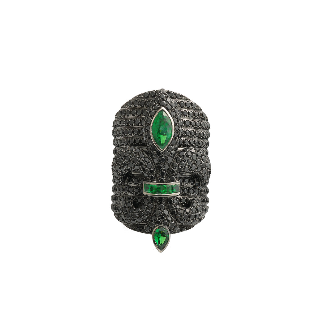 Chouchane Ring XL Emerald