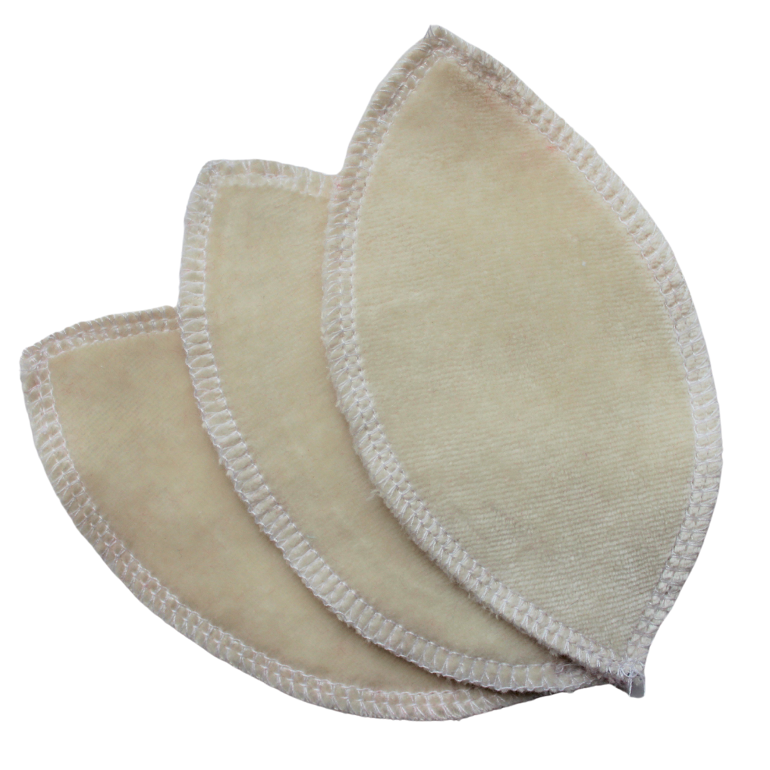 Lily Pad Boosters - Unbleached Bamboo Velour