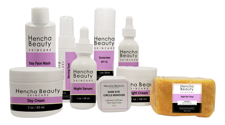 HENCHA BEAUTY SKINCARE PACKAGE