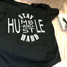 Load image into Gallery viewer, Barrel Racer with Feathers Stay Humble  Shirt