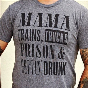 MAMA TRAINS AND TRUCKS