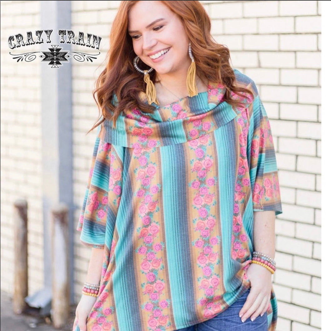 CRAZY TRAIN PONCHO