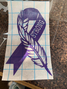 Feather/Strong Decal