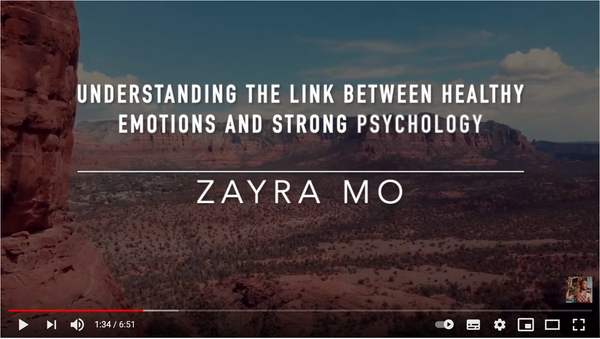 VIDEO - Understanding The Link Between Healthy Emotions and a Strong Psychology