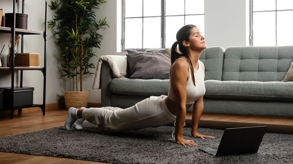 The Top REAL 10 Benefits When You Start A Yoga Workout In Your Home. PLAN INCLUDED!
