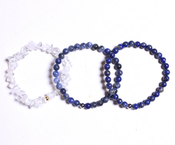 Focus Bracelet Set - The Yogi World - Zayra Mo