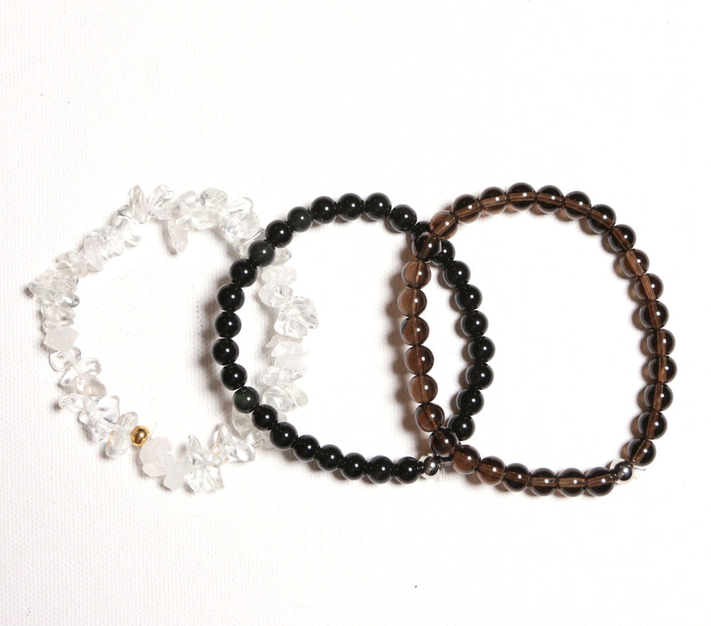 Grounding Love Bracelet Set - The Yogi World - Zayra Mo