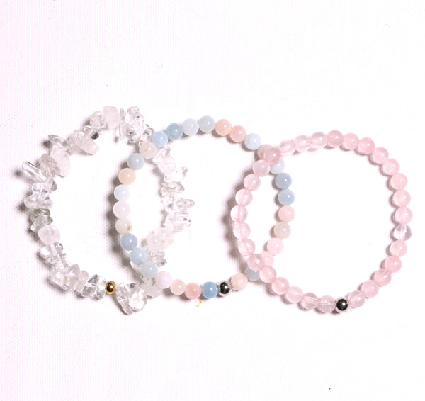 Attract Love Bracelet Set - The Yogi World - Zayra Mo