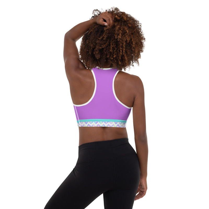 Nº3 - Women Racerback Sports Bra - High Impact Workout Gym Activewear Bra - Zayra Mo