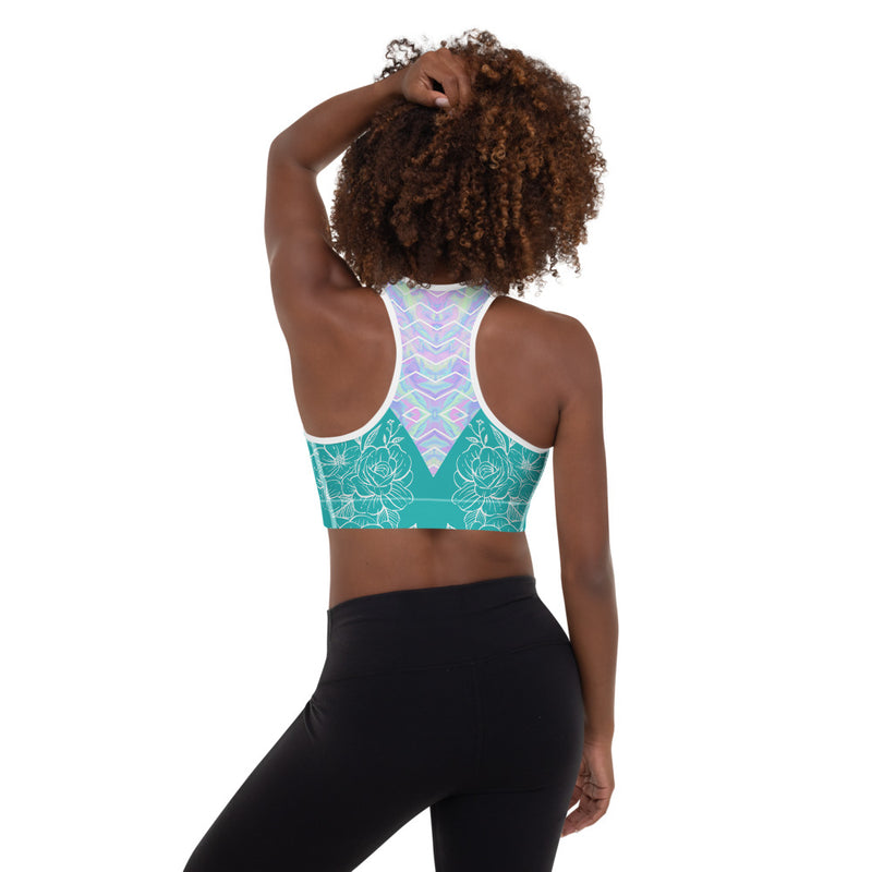 Nº4 - Women Racerback Sports Bra - High Impact Workout Gym Activewear Bra - Zayra Mo