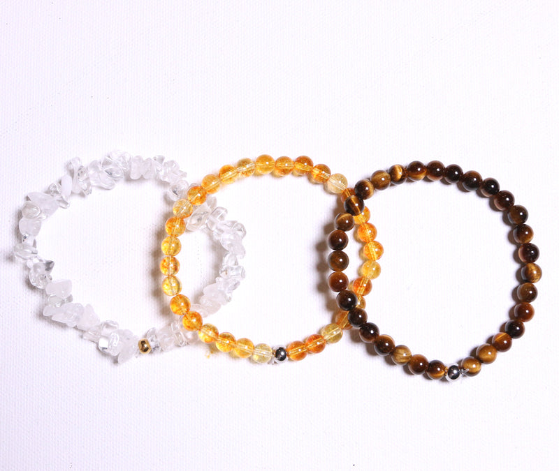 Attract Prosperity Bracelet Set - The Yogi World - Zayra Mo