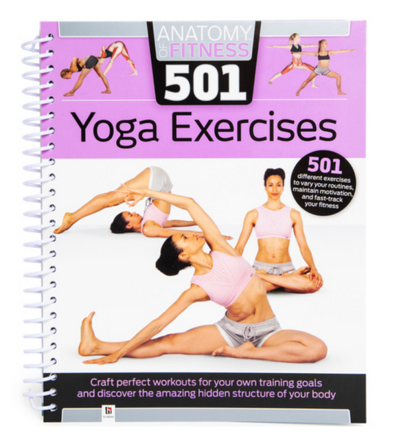 501 Yoga Exercises Book - Soul Books