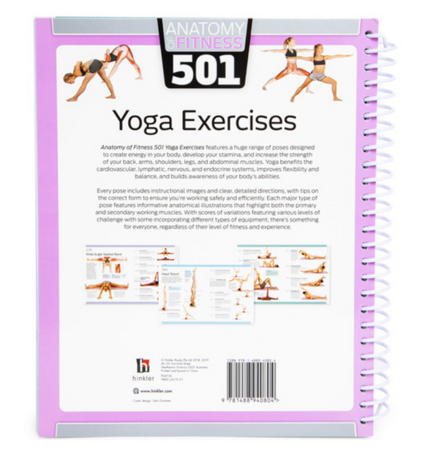 501 Yoga Exercises Book - Soul Books - Zayra Mo