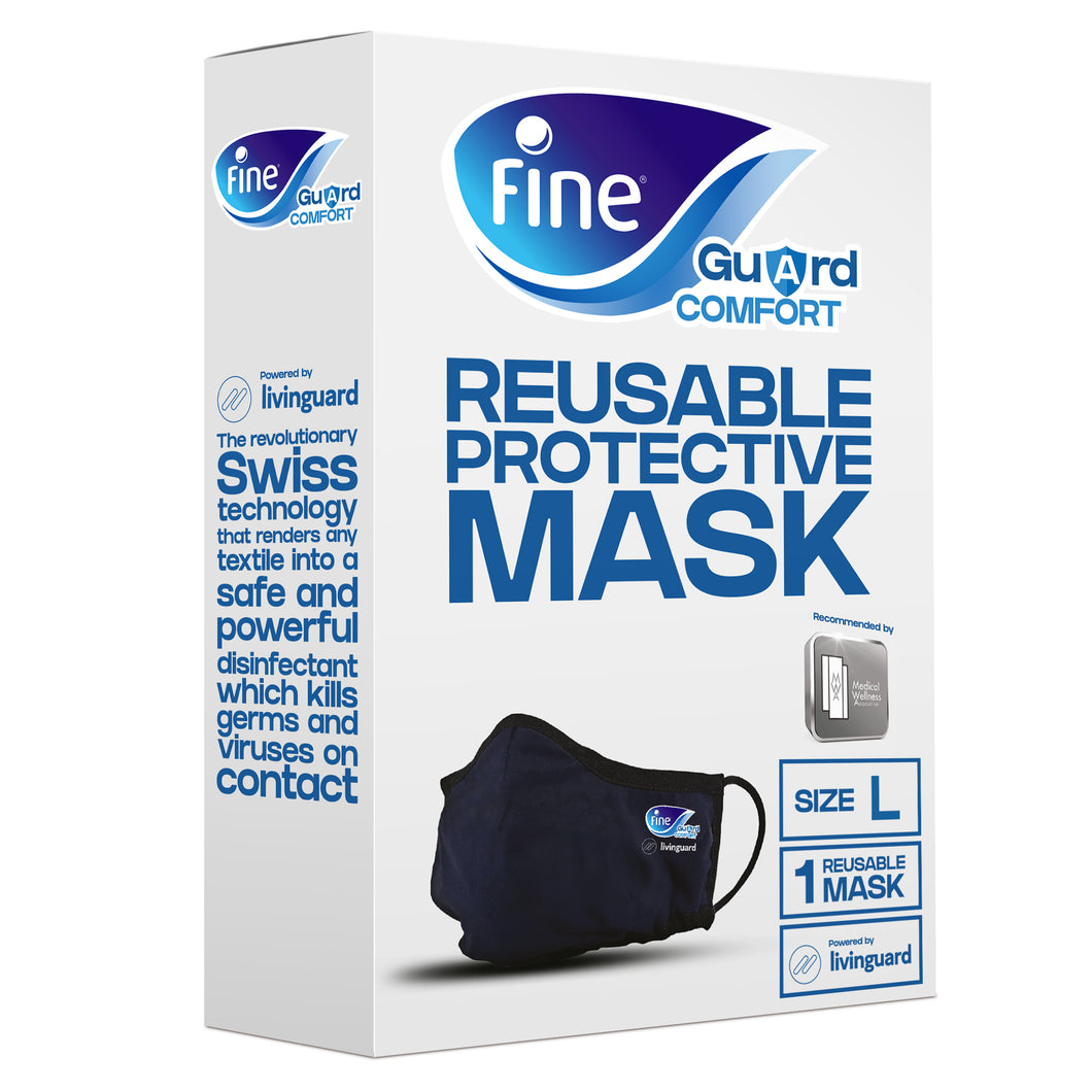 Fine Guard Anti-Viral Comfort Reusable Protective Face Mask