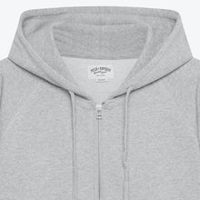 Load image into Gallery viewer, Peck & Snyder Full Zip Raglan Hoodie - Grey - The Great Divide
