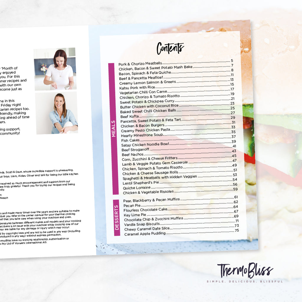 A Month Of Thermomix Dinners Cookbook 3