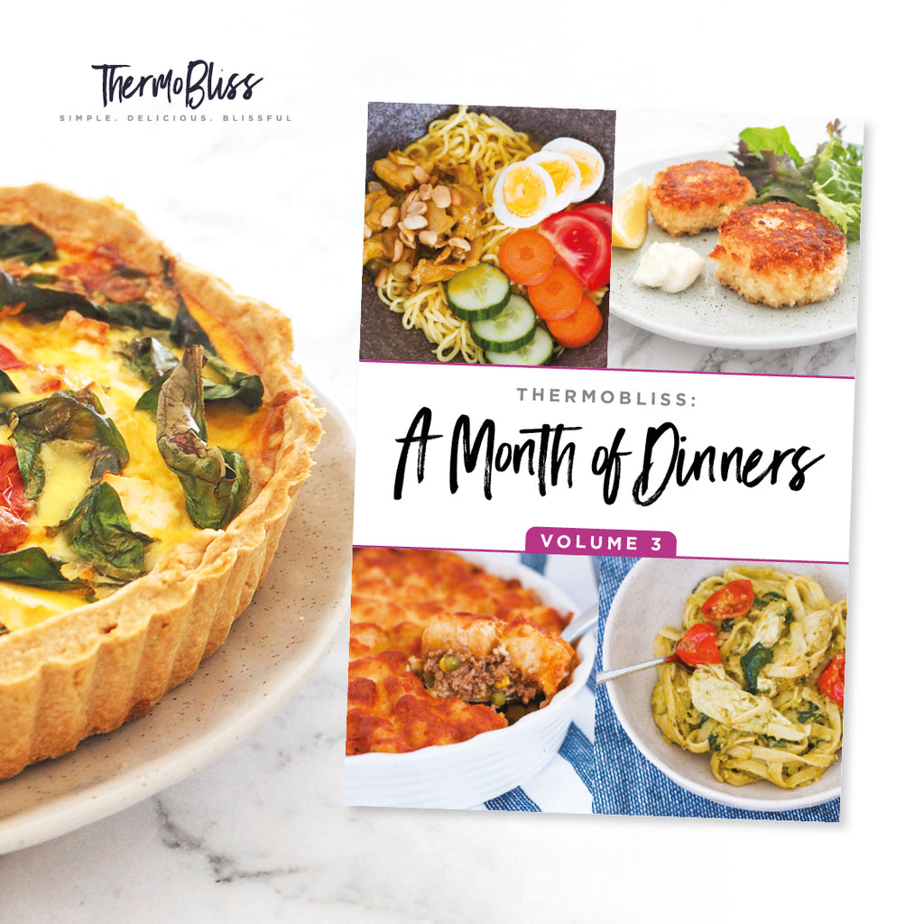 A Month of Thermomix Dinners 1, 2 & 3 Bundle