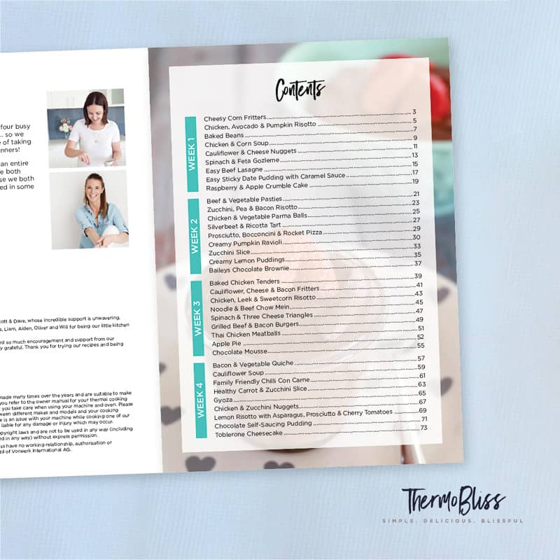 A Month Of Thermomix Dinners Cookbook 1